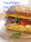 FareShare Gazette Recipes February 2009
