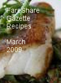 FareShare Gazette Recipes March 2009