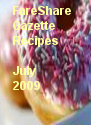 FareShare Gazette Recipes July 2009