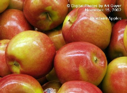Braeburn Apples in the Market Place